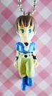 【震撼精品百貨】日本精品百貨-手機吊飾/鎖圈-格鬥系列-手機吊飾-綠眼藍衣