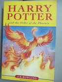 【書寶二手書T1/原文小說_OLY】 Harry Potter and Order of the Phoenix_J K Rowling