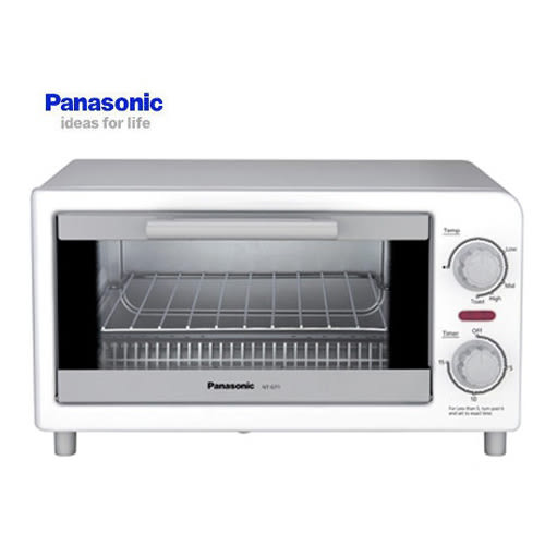 『Panasonic 國際牌』 強火高效率 4段火力調節,火力隨食而變烤箱 NT-GT1T / NTGT1T **免運費**