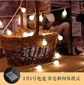 ins白色燈串星星燈裝飾小彩燈墻上燈飾網紅led燈泡串燈宿舍掛床上 - 風尚3C