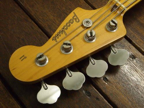 凱傑樂器 日本廠 BACCHUS BJB-70 WBD 米色電貝斯