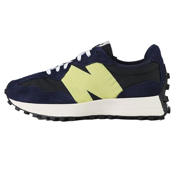 New balance 327 藍色 麂皮 休閒運動鞋 女款NO.J0690【新竹皇家 WS327CC】