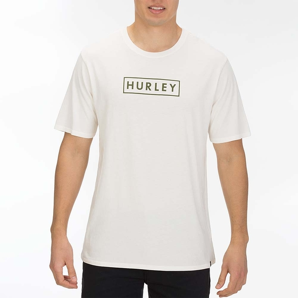 Hurley  M BNZ BOXED SS BLACK/(PINK TINT)  T恤-白(男)