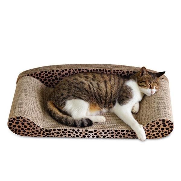 大號貓抓板瓦楞紙貓窩背靠式貓沙發