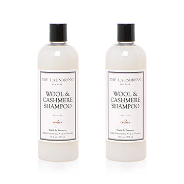 The Laundress Laundry Detergent, Wool and Cashmere Shampoo 475ml 衣物清潔系列 毛料衣物洗衣精 兩瓶裝 套組
