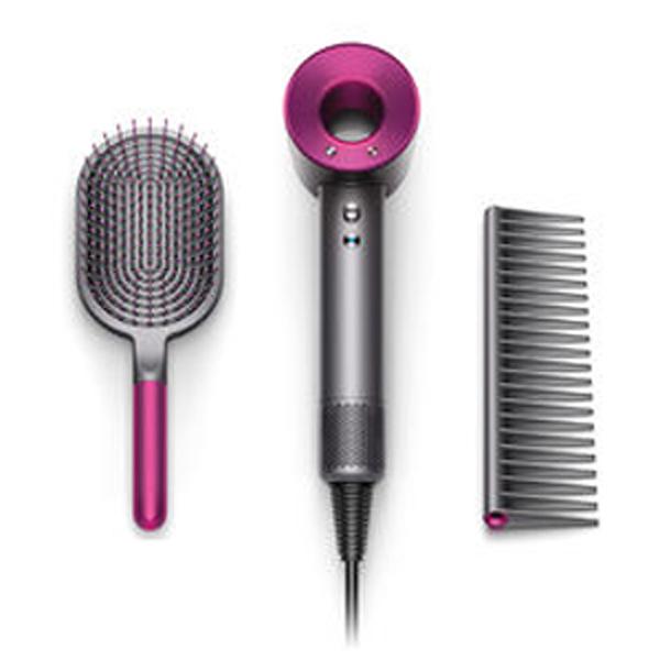24期零利率 Dyson Supersonic™ 吹風機 桃紅色 附專用按摩髮梳及順髮梳
