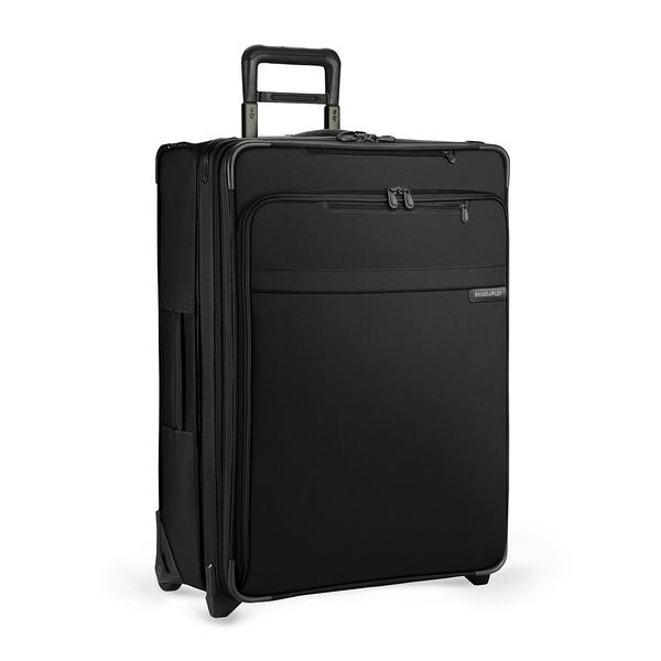 U128CX-4可擴充28吋兩輪行李箱 (黑) 美國BRIGGS&RILEY終身保固 BASELINE系列