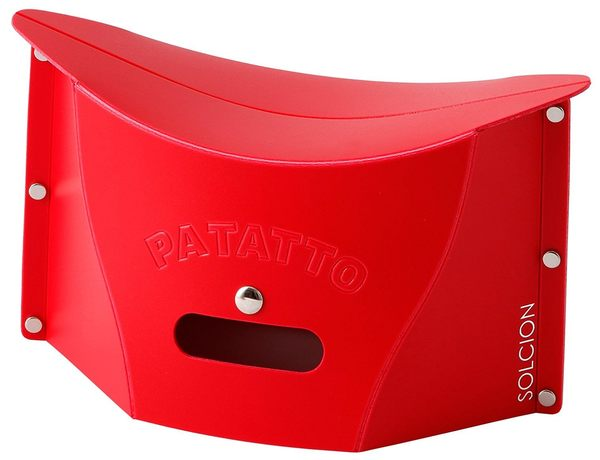 PATATTO mini超輕量可折疊攜帶式椅子耐重100KG 野餐椅攜帶椅摺疊 【2620】