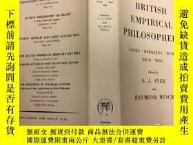 二手書博民逛書店British罕見Empirical Philosophers: