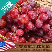 美國紅地球葡萄/3台斤(600g±5%/台斤)【愛買冷藏】