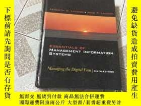 二手書博民逛書店ESSENTIALS罕見OF MANAGEMENT INFORM