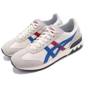 亞瑟士 Asics California 78 EX 米白 藍 紅 麂皮 休閒鞋 復古 基本款 男鞋 女鞋【PUMP306】 D800N-0042