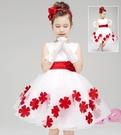 女童禮服洋裝合唱演出服兒童舞蹈服幼兒園表...
