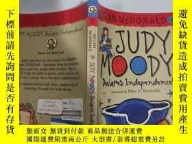 二手書博民逛書店judy罕見moody 朱迪·穆迪..…, Y200392