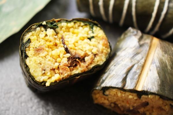 薑黃素食小米阿粨(素食)