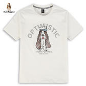 Hush Puppies T恤 男裝塗鴉刺繡狗水手風格T恤