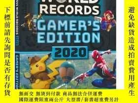 二手書博民逛書店Guinness罕見World Records Gamer s Edition 2020世界吉尼斯世界紀錄遊戲版2