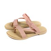 Crocs 夾腳涼鞋 粉紅色 拖鞋式 女鞋 206108-6RL no050