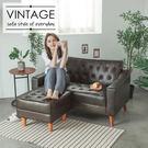沙發 椅子 椅凳【Y0589-A】Vega Queen復古風情皮質椅凳 完美主義