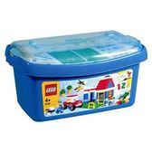 LEGO 樂高 樂高基本顆粒系列 樂高創意積木桶含底板_LG6166
