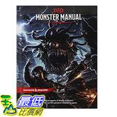 [106美國直購] 2017美國暢銷書 Monster Manual (D&D Core Rulebook)
