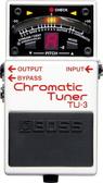 BOSS TU-3 半音階調音器 【Chromatic Tuner/可為BOSS單踏效果器供電/6弦BASS貝斯/TU3】