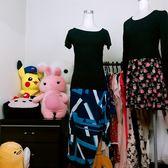 ★現貨★OL修身套裝 彈力棉T恤+不規則裙 裙套裝【XP現貨】【星品時尚日韓批發】