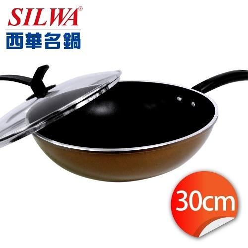 西華 可立蓋不沾炒鍋 30cm 型號ASW-CS30