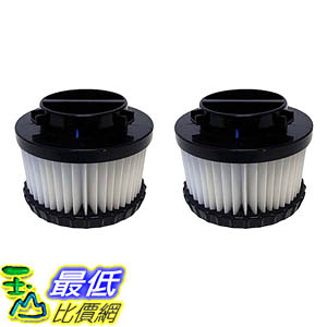 [106美國直購] 2 Highly Durable Washable & Reusable Dirt Devil Style F9 HEPA Filters 3DJ0360000, 2DJ0360000