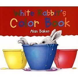 『繪本123‧吳敏蘭老師書單』-- WHITE RABBITS COLOR BOOK  /英文繪本 (騎馬釘裝訂)
