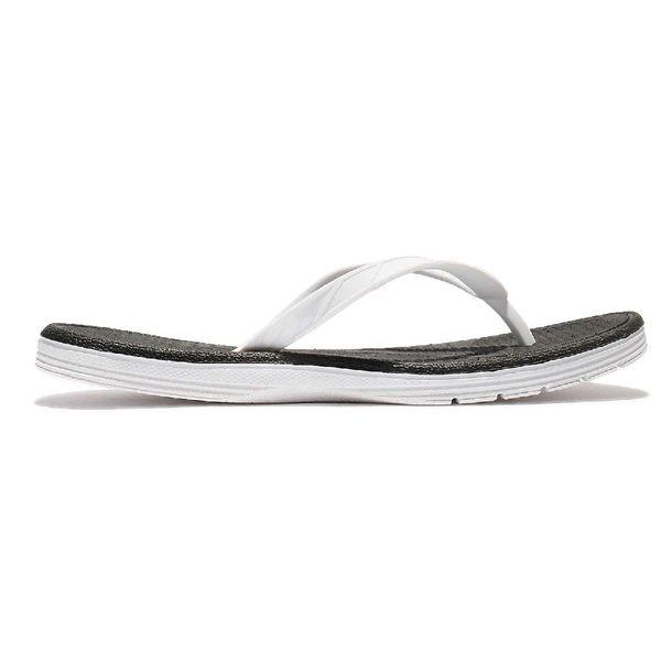 New Balance 拖鞋 W6076WBK B 白 黑 防水 夾腳拖 涼拖鞋 女鞋【PUMP306】 W6076WBKB