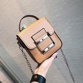 夏季新款手機包時尚迷你條小包包單肩斜挎包韓版潮休閒女包 米蘭街頭