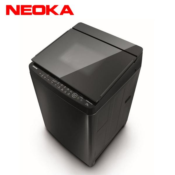 [TOSHIBA 東芝]14公斤 勁流雙渦輪超變頻洗衣機 AW-DG14WAG