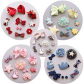 髮夾 兒童 髪飾 寶寶 花朵 蝴蝶結 髮夾 10件組合 女童造型 BW