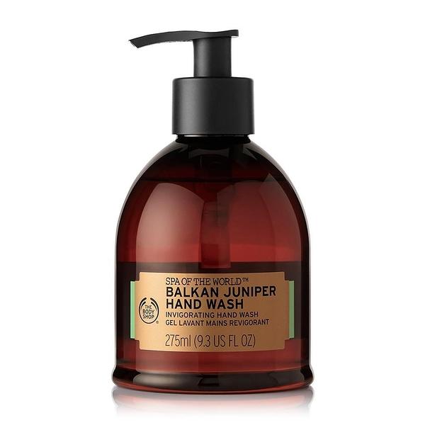【南紡購物中心】【THE BODY SHOP】巴爾幹SPA杜松果淨化洗手乳-275ML