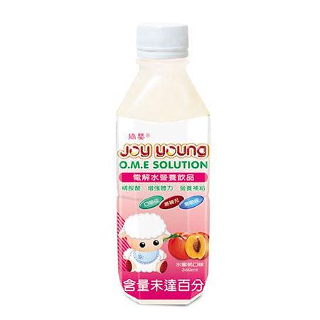 4入組 嬌嬰 電解水解營養飲品 水蜜桃口味 360ml 【瑞昌藥局】000297