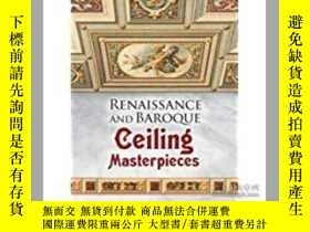 二手書博民逛書店Renaissance罕見and Baroque Ceiling