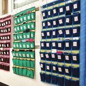 年終大促 教室手機掛袋學校考試裝放手機袋子班級上課手機收納袋牛津布墻掛