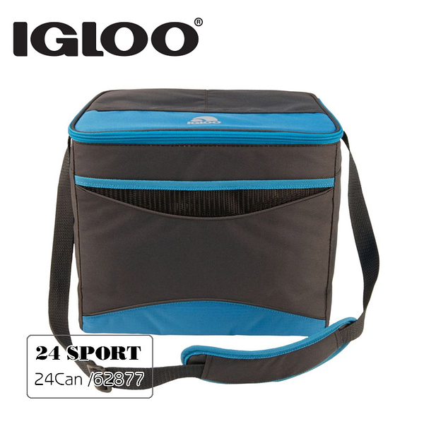Igloo 軟式保冷包62877 COLLAPSE & COOL 24 SPORT / 城市綠洲 (保鮮保冷、露營保冷袋、保冰)