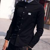 加絨襯衫-日式街頭率性時尚男長袖上衣3款8色72am10[巴黎精品]