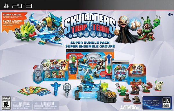 PS3 Skylanders Trap Team Holiday Bundle Pack(美版代購)