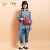 betty's貝蒂思 星星繡線牛仔褲(牛仔藍)