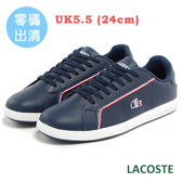 LACOSTE 女用休閒鞋-藍 984