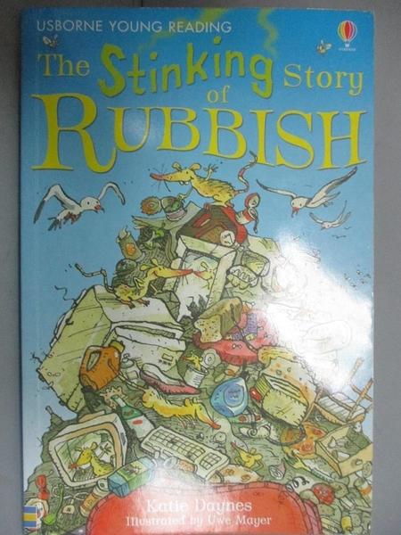 【書寶二手書T2/原文小說_HNP】The Stinking Story Rubbish 惡臭的垃圾故事_凱蒂·戴恩斯(