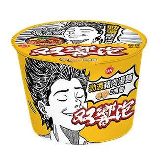 味丹 雙響泡 勁濃豬肉湯麵 106g/碗