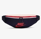 NIKE HERITAGE HIP BAG 腰包 藍 米白 紅 側背包 肩背包  (布魯克林) BA5750-498