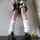 日系原宿風針織襪套JK軟妹泡泡襪堆堆襪學...