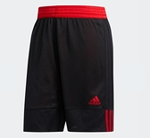 Adidas 3G SPEED REVERSIBLE SHORTS 男款黑紅運動短褲-NO.DY6596