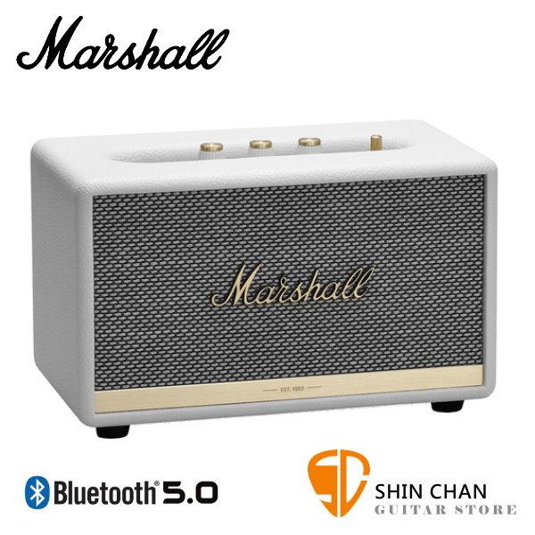【預購】Marshall Acton II 藍牙喇叭 經典白 全新2代 Acton Ⅱ無線喇叭 藍牙音箱音響 / 台灣公司貨
