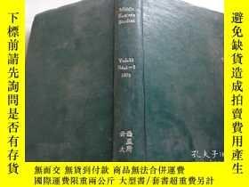 二手書博民逛書店Middle罕見Eastern Studies 1979 1-3